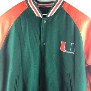 Vintage Leather Steve & Barry's Miami Hurricanes